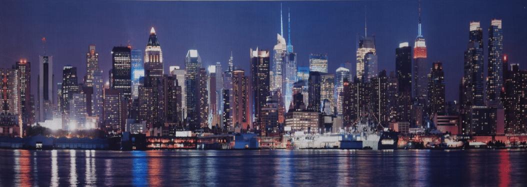 Cuadro Skyline Nueva York - Cuadros modernos baratos
