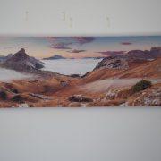 cuadro montañas